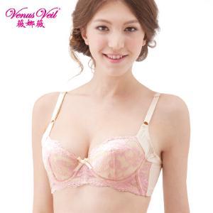 薇娜薇日系女士内衣 深V调整型超聚拢文胸 收副乳性感女士文胸 3372性感文胸