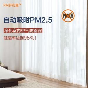 净化室内空气防雾霾窗帘多功能净化窗帘(规格3)170CM~250CM*180*1片3926